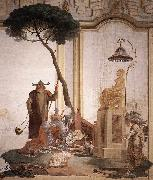 TIEPOLO, Giovanni Domenico Offering of Fruits to Moon Goddess nmoih painting