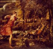 TIZIANO Vecellio Death of Actaeon jhfy oil painting reproduction