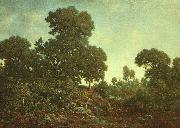 Theodore Rousseau Springtime  ggg oil