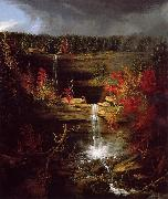 Thomas Cole Falls of Kaaterskill oil painting