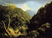 Thomas Cole Autumn in Catskills oil painting reproduction