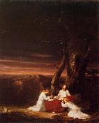 Thomas Cole Angels Ministering to Christ in the Wilderness oil painting reproduction
