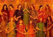Thomas Cooper Gotch Alleluia oil on canvas
