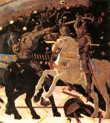 UCCELLO, Paolo Niccol da Tolentino Leads the Florentine Troops (detail) ou oil painting reproduction