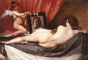 VELAZQUEZ, Diego Rodriguez de Silva y Venus at her Mirror (The Rokeby Venus) g china oil painting artist
