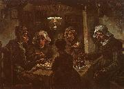 Vincent Van Gogh The Potato Eaters oil painting reproduction