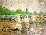 Vincent Van Gogh The Seine with the Pont de la Grand Jatte oil painting