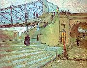 Vincent Van Gogh The Trinquetaille Bridge oil painting