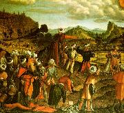 Vittore Carpaccio The Stoning of Saint Stephen oil on canvas