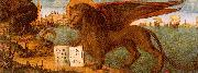 Vittore Carpaccio The Lion of St.Mark oil on canvas