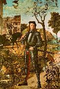 Vittore Carpaccio Portrait of a Knight oil on canvas