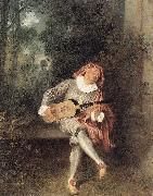 WATTEAU, Antoine Mezzetin22 oil painting reproduction