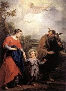 WIT, Jacob de Holy Family and Trinity painting