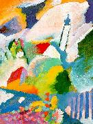 Wassily Kandinsky Church in Marnau oil painting artist