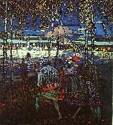 Wassily Kandinsky Riding Couple oil painting artist