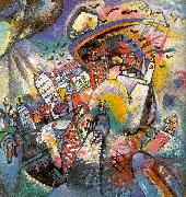 Wassily Kandinsky Moscow I oil painting artist
