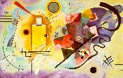 Wassily Kandinsky Yellow-Red-Blue oil painting artist
