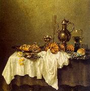 Willem Claesz Heda Breakfast of Crab oil on canvas