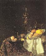 Willem Kalf Dessert oil painting reproduction