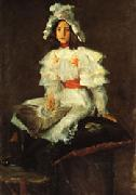 William Merritt Chase Girl in White oil painting