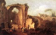 ZAIS, Giuseppe Landscape with Ruins and Archway oil