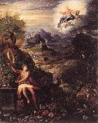 ZUCCHI  Jacopo Allegory of the Creation oil