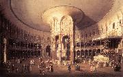 Canaletto London: Ranelagh, Interior of the Rotunda vf oil painting reproduction
