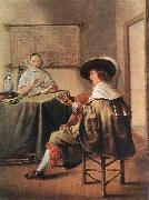 MOLENAER, Jan Miense The Music-Makers ag oil painting