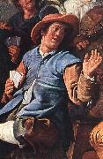 MOLENAER, Jan Miense The Denying of Peter (detail) ag oil painting