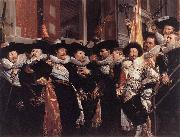POT, Hendrick Gerritsz Officers of the Civic Guard of St Adrian yf painting