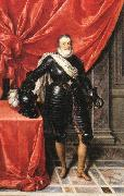 POURBUS, Frans the Younger Henry IV, King of France in Armour F oil