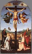 RAFFAELLO Sanzio Crucifixion (Citt di Castello Altarpiece) g oil painting reproduction
