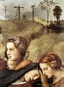 RAFFAELLO Sanzio The Entombment (detail) st oil painting