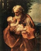 RENI, Guido St Joseph with the Infant Jesus dy oil painting reproduction