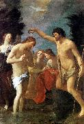 RENI, Guido Baptism of Christ xhg oil