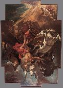 RICCI, Sebastiano Fall of Phaeton oil
