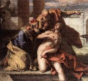 RICCI, Sebastiano Susanna and the Elders oil