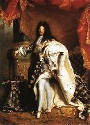 RIGAUD, Hyacinthe Portrait of Louis XIV gfj oil