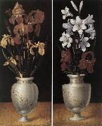 RING, Ludger tom, the Younger Vases of Flowers DTU oil