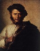 ROSA, Salvator Portrait of a Man d oil