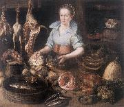 RYCK, Pieter Cornelisz van The Kitchen Maid AF oil