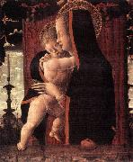 SQUARCIONE, Francesco Virgin and Child sf oil