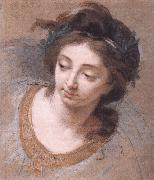 VIGEE-LEBRUN, Elisabeth Woman's Head iy oil painting reproduction