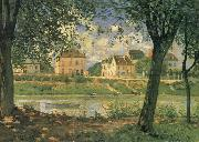 Alfred Sisley Villeneuve la Garenne on the Seine china oil painting artist