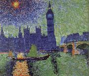 Andre Derain Houses of Parliament London painting