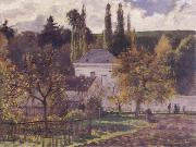 Camille Pissarro Villa at L-Hermitage,Pontoise china oil painting artist