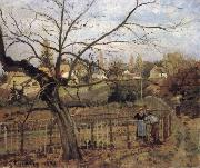 Camille Pissarro The Fence La barriere china oil painting artist