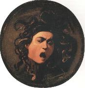 Caravaggio Head of the Medusa painting