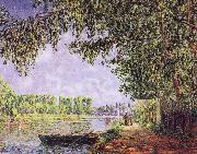 Francis Picabia The Rhine-s Landscape shone in the sun oil