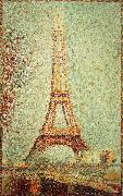 Georges Seurat Iron tower oil painting reproduction